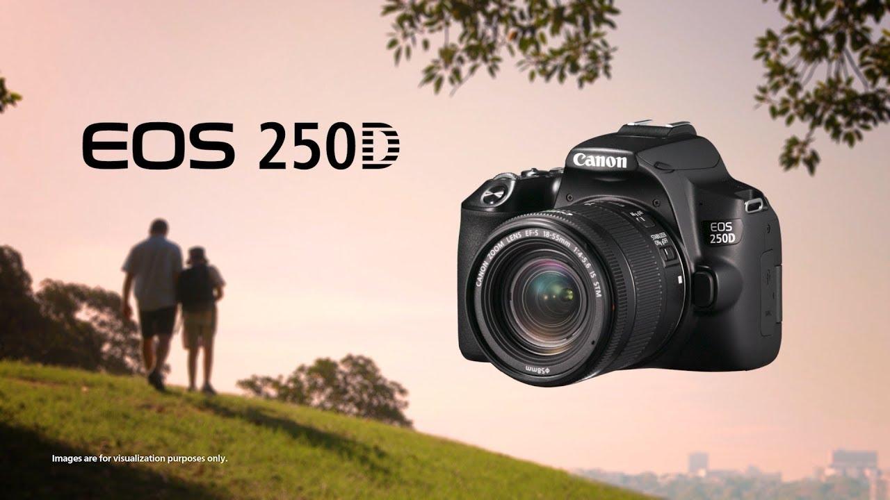 Canon trình làng EOS 200D II / 250D: phổ cập 4K cho DSLR | 50mm Vietnam