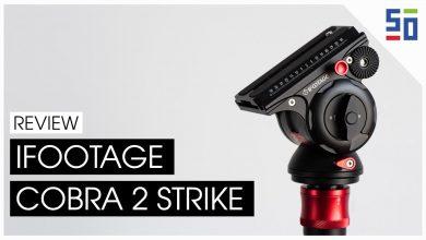 iFootage Cobra 2 Strike - Chân máy tiện lợi cho những người làm nghệ thuật | 50mm Vietnam