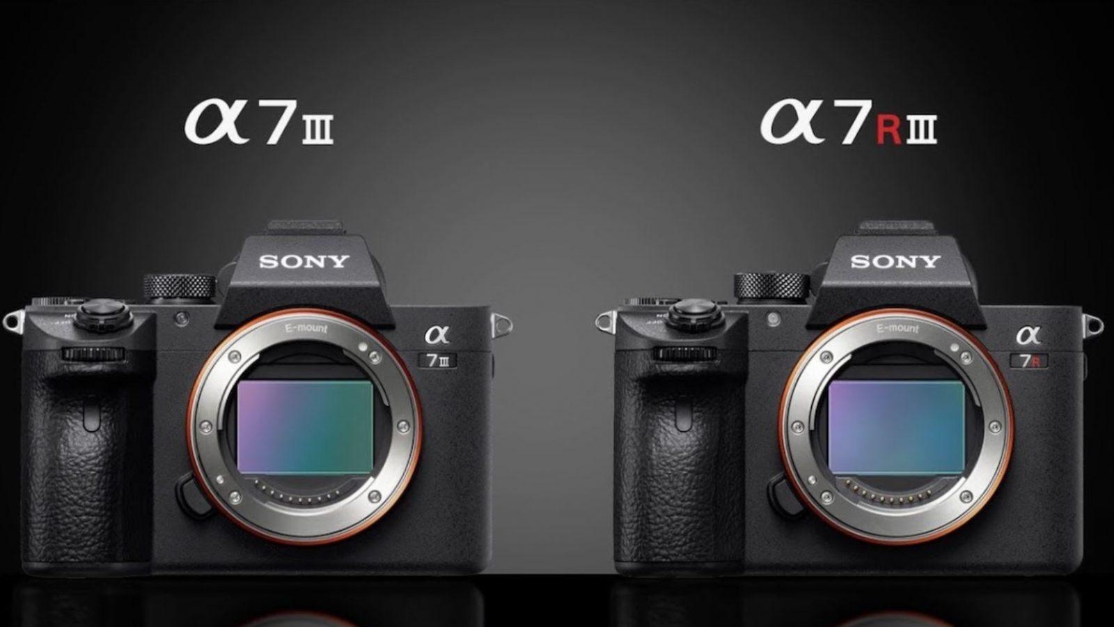 Sony cập nhật firmware 3.00 cho a7 III và a7R III   50mm Vietnam
