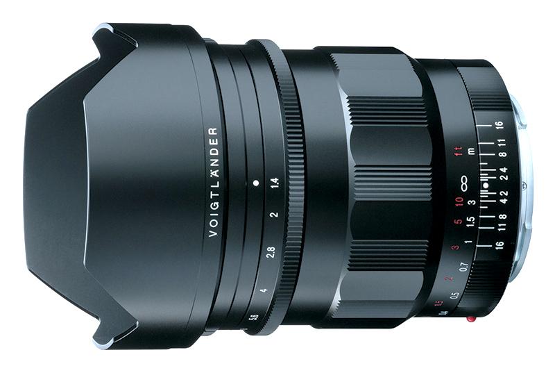Cosina trình làng ống kính Voigtlander Nokton 21mm f/1.4 cho Sony | 50mm Vietnam