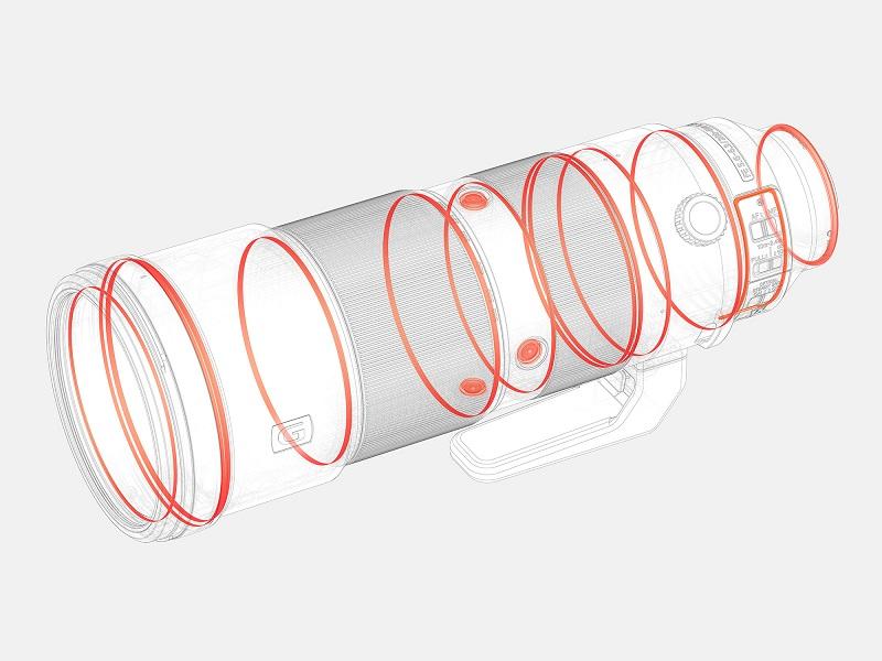 Sony trình làng cặp đôi ống kính tele 200-600mm và 600mm GM | 50mm Vietnam