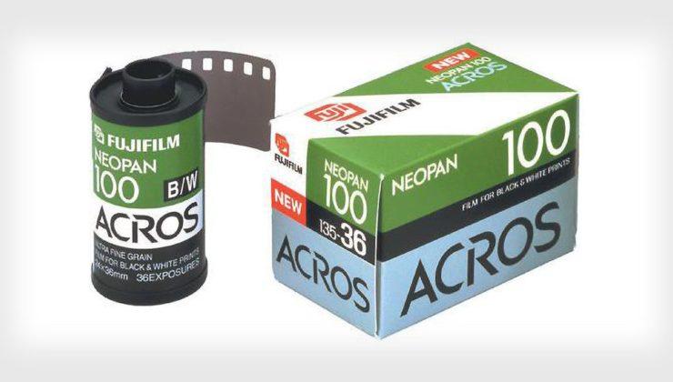 Fujifilm sẽ tái sinh phim cuộn NEOPAN 100 Acros vào cuối năm nay   50mm Vietnam