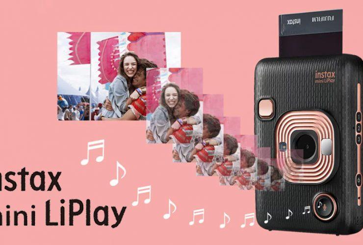 Fujifilm Instax Mini LiPlay: Lưu giữ khoảnh khắc và cả âm thanh luôn vào ảnh ăn liền!