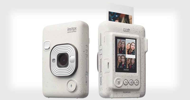 Fujifilm trình làng máy ảnh ăn liền Instax Mini LiPlay: Máy ảnh có thể ghi âm vào từng bức ảnh | 50mm Vietnam