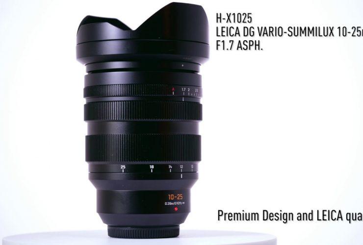 Panasonic bắt đầu bán ống kính Leica DG Vario - Summilux 10-25mm f/1.7 từ tháng 7/2019 | 50mm Vietnam