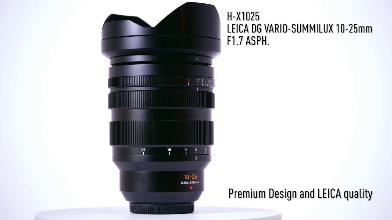 Panasonic bắt đầu bán ống kính Leica DG Vario - Summilux 10-25mm f/1.7 từ tháng 7/2019   50mm Vietnam
