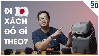 Đi du lịch Nhật thì anh Xù đã xách theo đồ gì? | Gear Review | 50mm Vietnam
