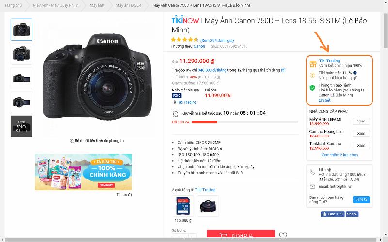 Có nên mua máy ảnh trên Tiki, Shopee...hay không | 50mm Vietnam