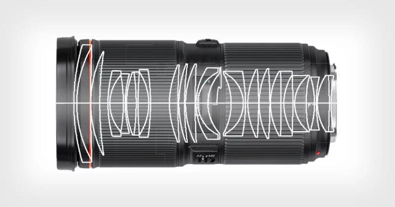 Canon đăng kí bản thiết kế ống kính RF 50-80mm f/1.1   50mm Vietnam
