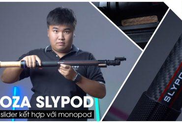 Chiếc monopod điện cho góc quay cực lạ: Moza Slypod