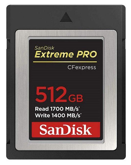 Sandisk bắt đầu bán thẻ nhớ CFexpress Extreme Pro tại châu Âu | 50mm Vietnam