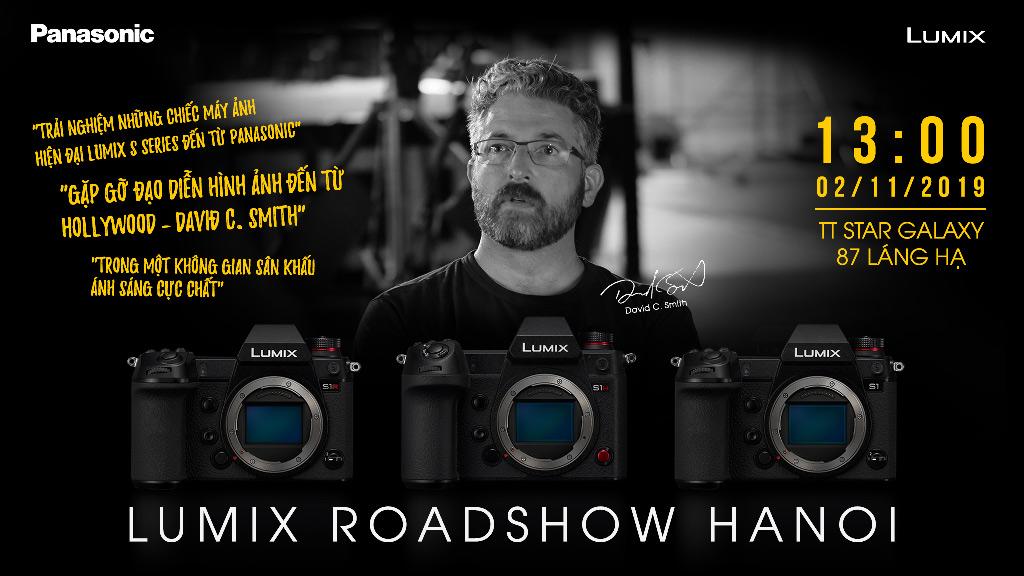 Lumix Roadshow Hà Nội: Đến đây và cùng trải nghiệm máy ảnh Full-frame của Panasonic nào!