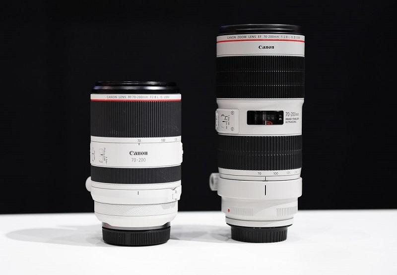 Canon RF 70-200mm f/2.8L: Nỗi thất vọng khi không có thiết kế zoom trong | 50mm Vietnam