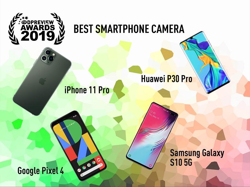 DPreview Award 2019 - Điện thoại chụp ảnh tốt nhất của năm 2019