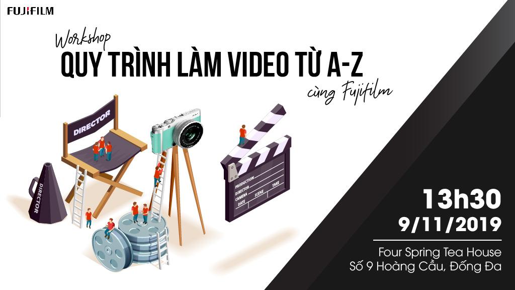 Workshop: Làm video/vlog từ A đến Z với máy ảnh Fujifilm | 50mm Vietnam