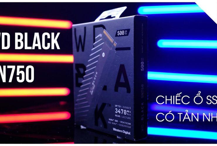 Chiếc ổ cứng SSD cho dựng phim 4K và Photographer chuyên nghiệp - WD Black SN750