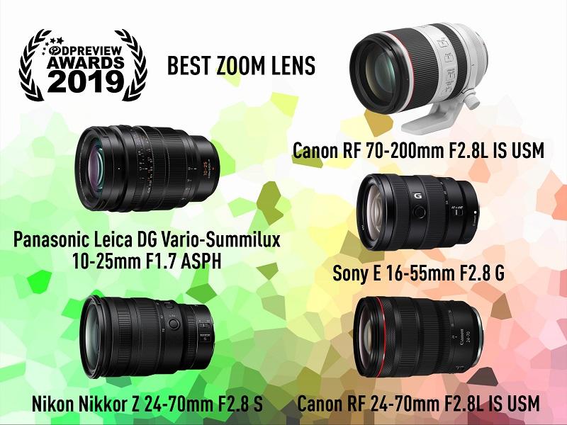 DPreview Award 2019 - Zoom lens của năm 2019