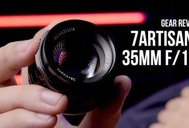 Ống kính GIÁ RẺ, KHẨU TO cho máy ảnh mirrorless - 7Artisans 35mm f/1.2 MF | Gear Review