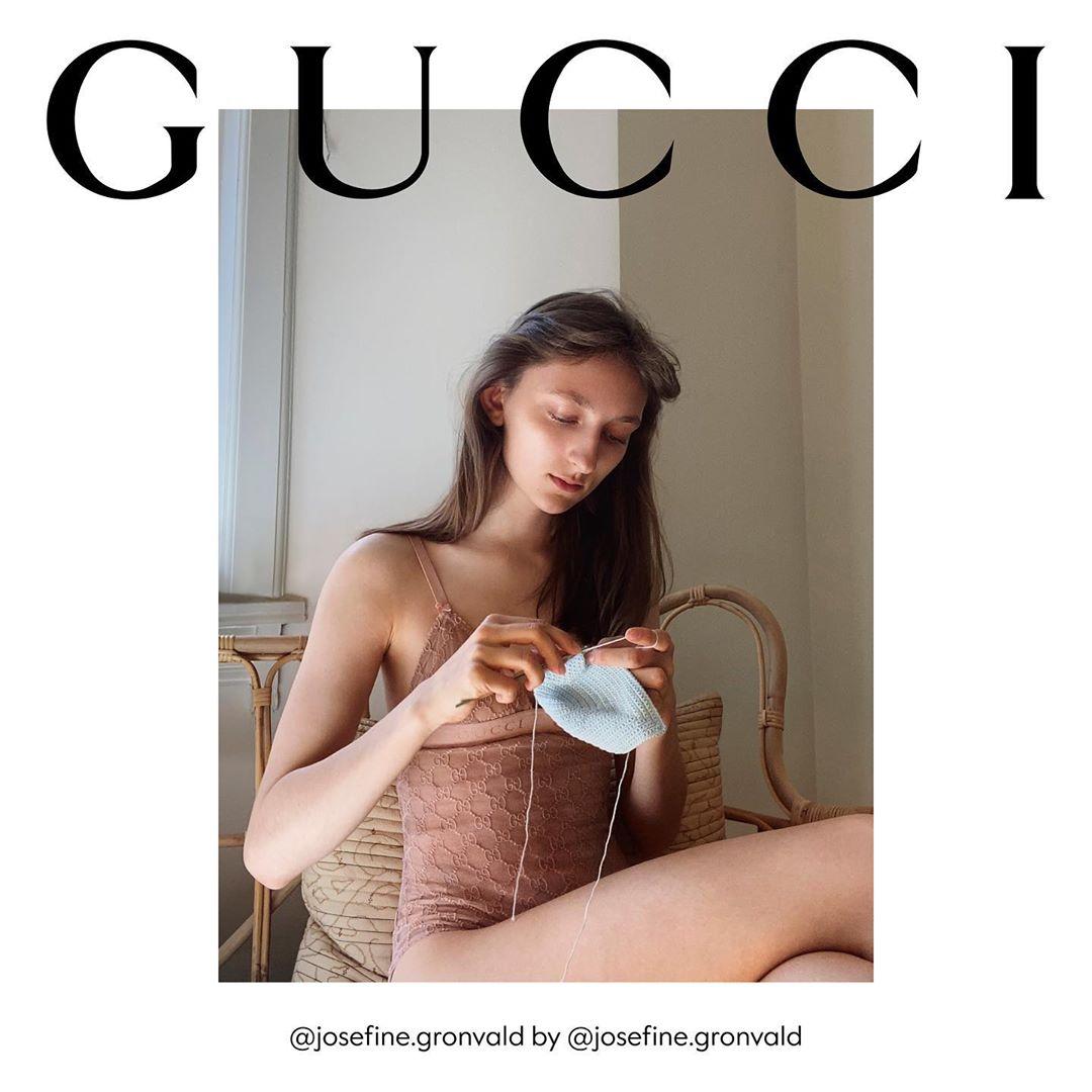 Khi bộ sưu tập thu/đông của Gucci là ảnh selfie? | 50mm Vietnam - Chuyên trang nhiếp ảnh
