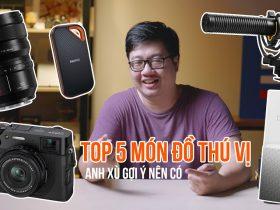 Top 5 món đồ yêu thích của founder 50mm Vietnam