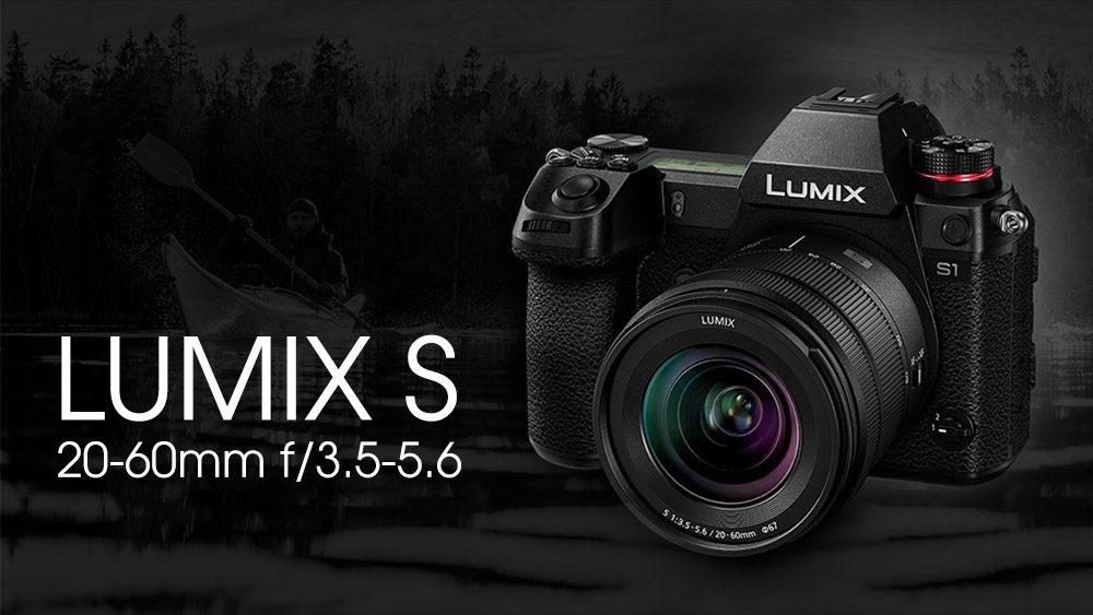 Panasonic ra mắt ống kit giá rẻ Lumix S 20-60mm f/3.5-5.6 ngàm L | 50mm Vietnam