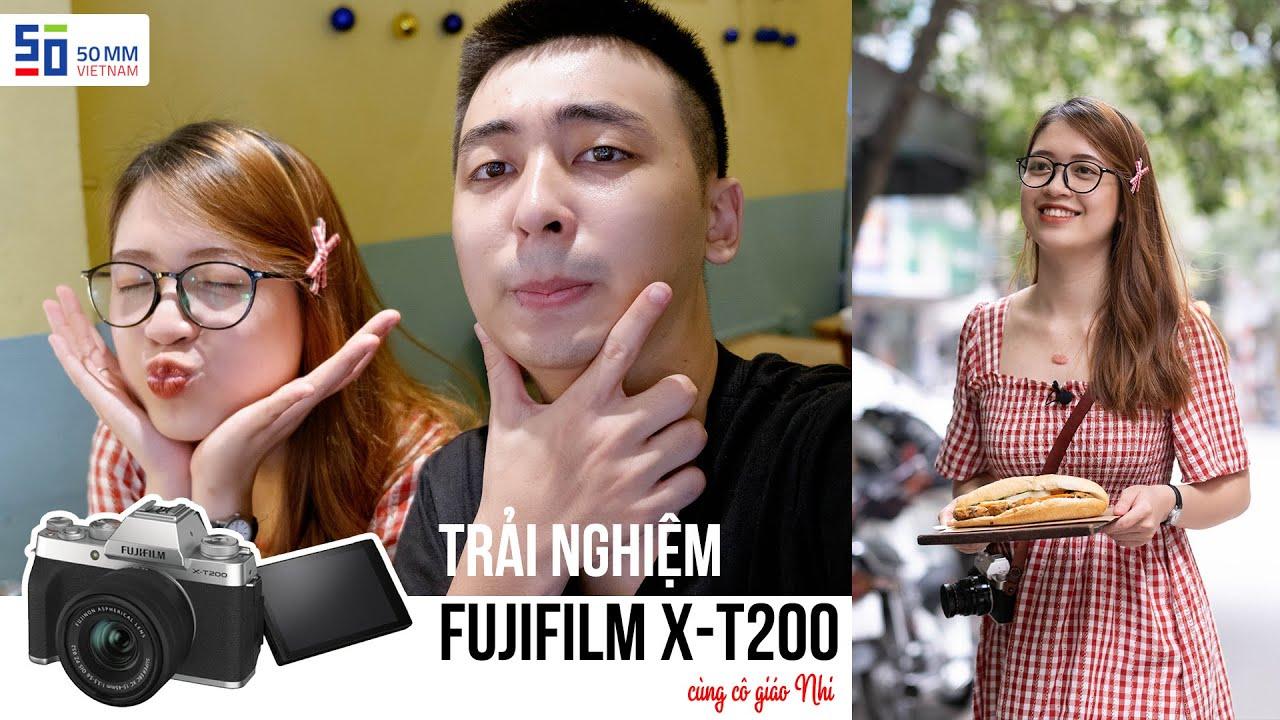 Cùng Fujifilm X-T200 đi phá đảo hàng bánh mì nổi tiếng phố cổ | Gear Review