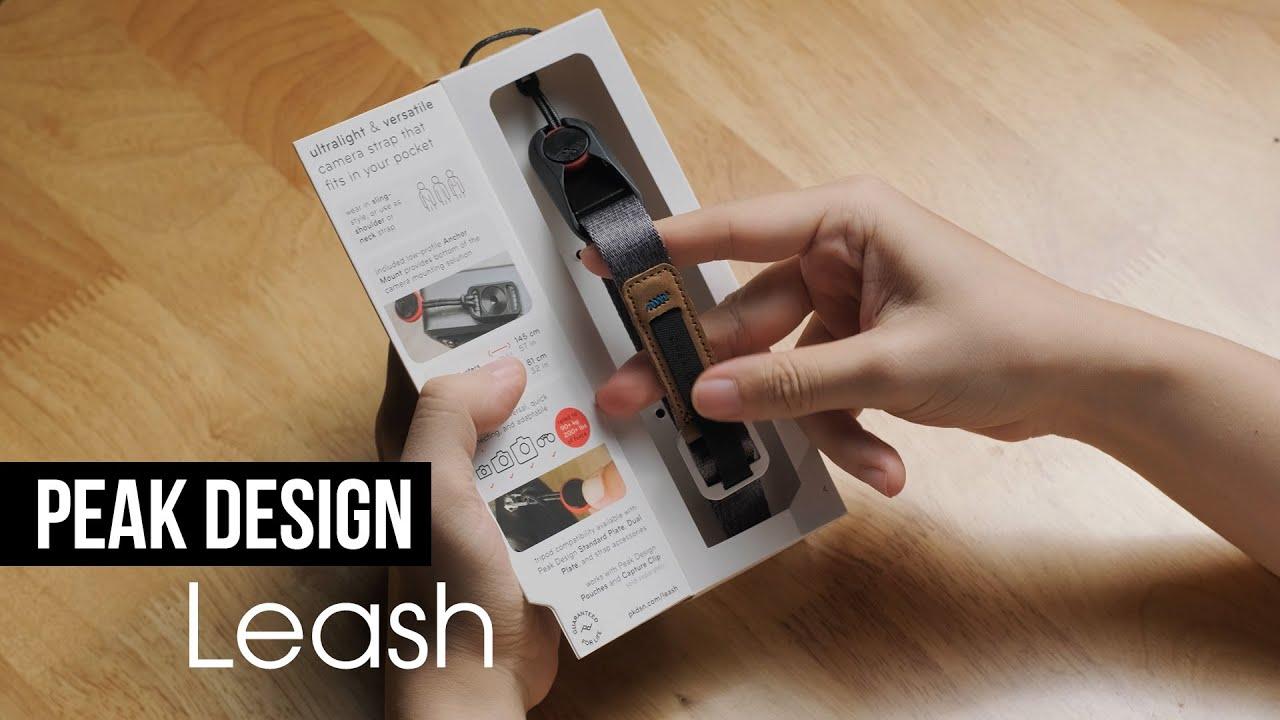 Dây đeo ĐẸP NHẤT, CHUẨN CHỈ cho máy ảnh mirrorless - Peak Design Leash | 50mm Vietnam