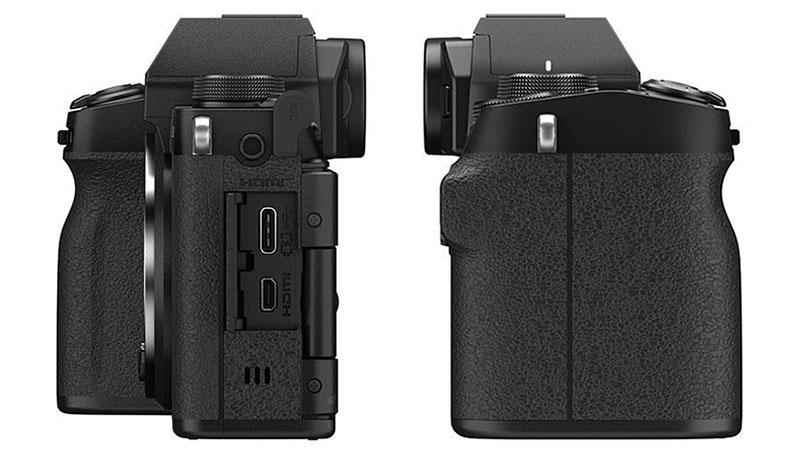 Hai bên hông của Fujifilm X-S10