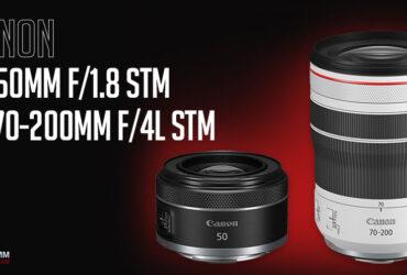 Canon RF 70-200mm f/4L và RF 50mm f/1.8 STM - Triết lý nhỏ gọn của Canon | 50mm Vietnam