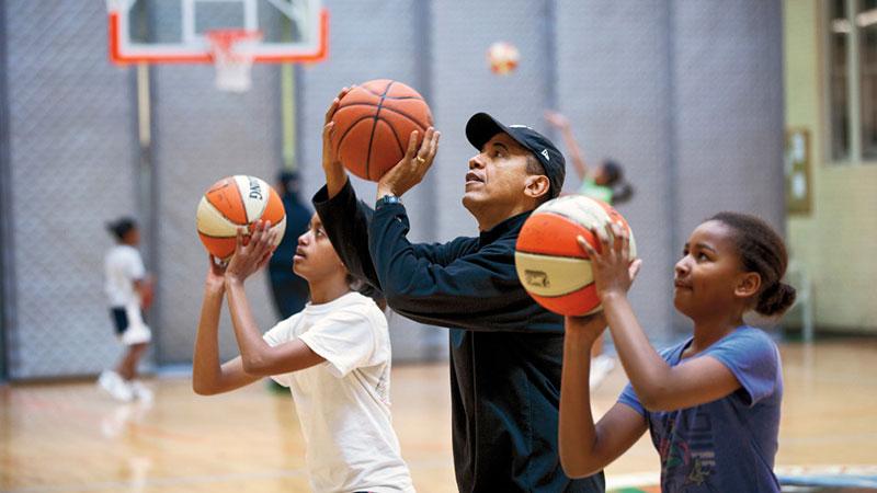 barack obama basket ball