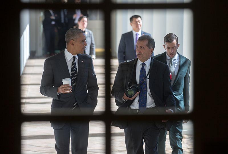Pete Souza - cựu nhiếp ảnh gia cho Obama
