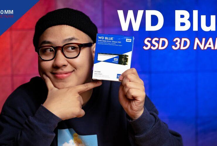Ổ cứng SSD siêu bền cho dân chụp ảnh - WD Blue SSD 3D NAND | 50mm Vietnam
