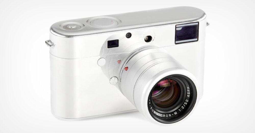 Mẫu thử nghiệm máy ảnh Leica thiết kế bởi Jony Ive, Marc Newson đang được bán đấu giá | 50mm Vietnam - Chuyên Trang Nhiếp Ảnh