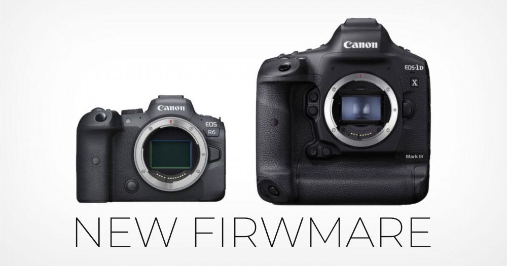 Canon EOS R6 và EOS 1D-X Mark III có firwmare mới với C-Log3 | 50mm Vietnam