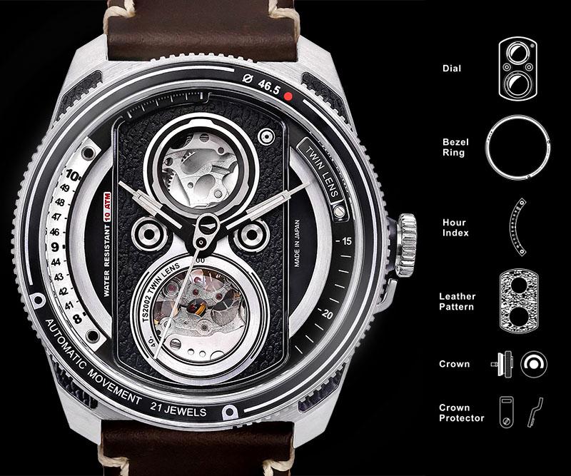 TACS ATL - Chiếc đồng hồ được lấy cảm hứng từ máy ảnh Twin-Lens Reflex | 50mm Vietnam - Chuyên Trang Nhiếp Ảnh